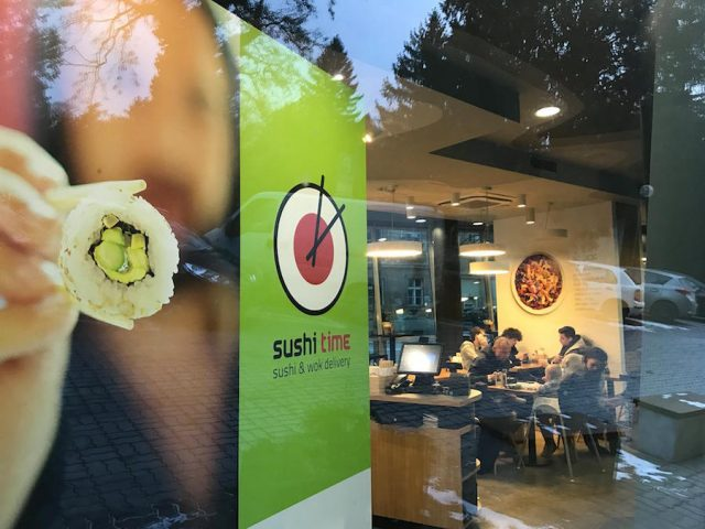 Sushi Time – Malý Trh
